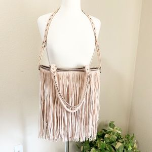 Steve Madden, Fringed Shoulder Bag (01)